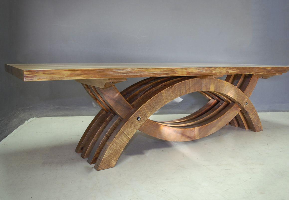Enhance Dinning Area With Elegant Furnishings Wood Dining Table