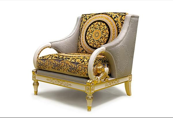 Vanitas living versace home collection versace home Versace sofa