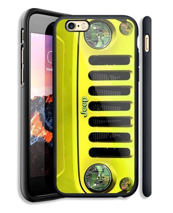 Yellow Jeep Wrangler Case For IPhone 6 6+ 6s 6s+ 7 7+ 8 8