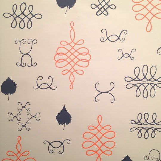 Sweet & Quirky Wallpapers by Avery Thatcher of JUJU Papers — ICFF 2012