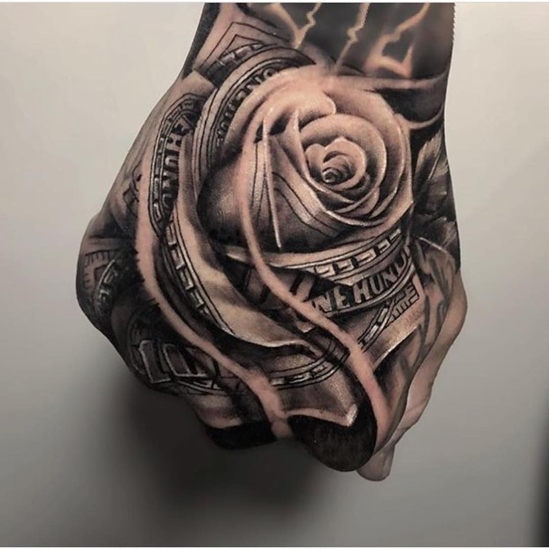 Für männer tattoo hand Hand Tattoo