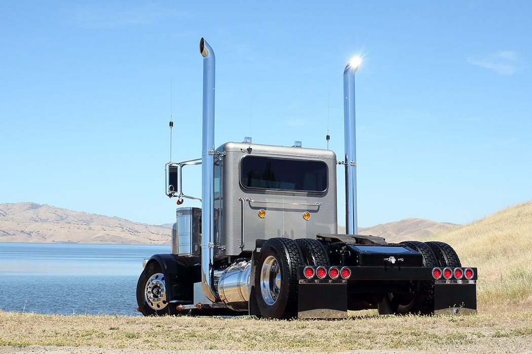 Custom Single Axle Trucks : Single axle peterbilt trucks pinterest