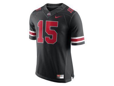 pretty nice 15b30 d1959 Nike #15 NCAA Men's All Black Limited Football Jersey | Dark ...