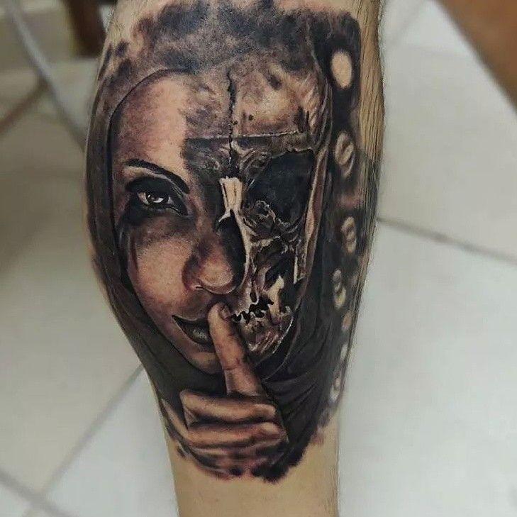 Ilario Tatuagem Tattoo Vitoria Misterio Tatuagem Tattoo