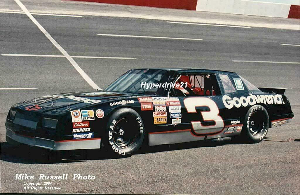 dale earnhardt 1989 | All the Monte Carlo SS from Dale Earnhardt ...
