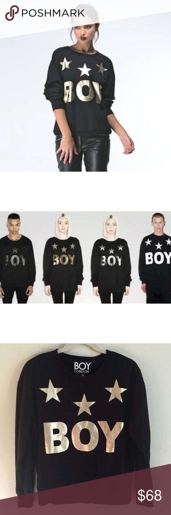 Sold Boy London Boy Tri Star Sweat Gold Casual Chic Style Winter Boy London Casual Chic Winter [ 1740 x 580 Pixel ]