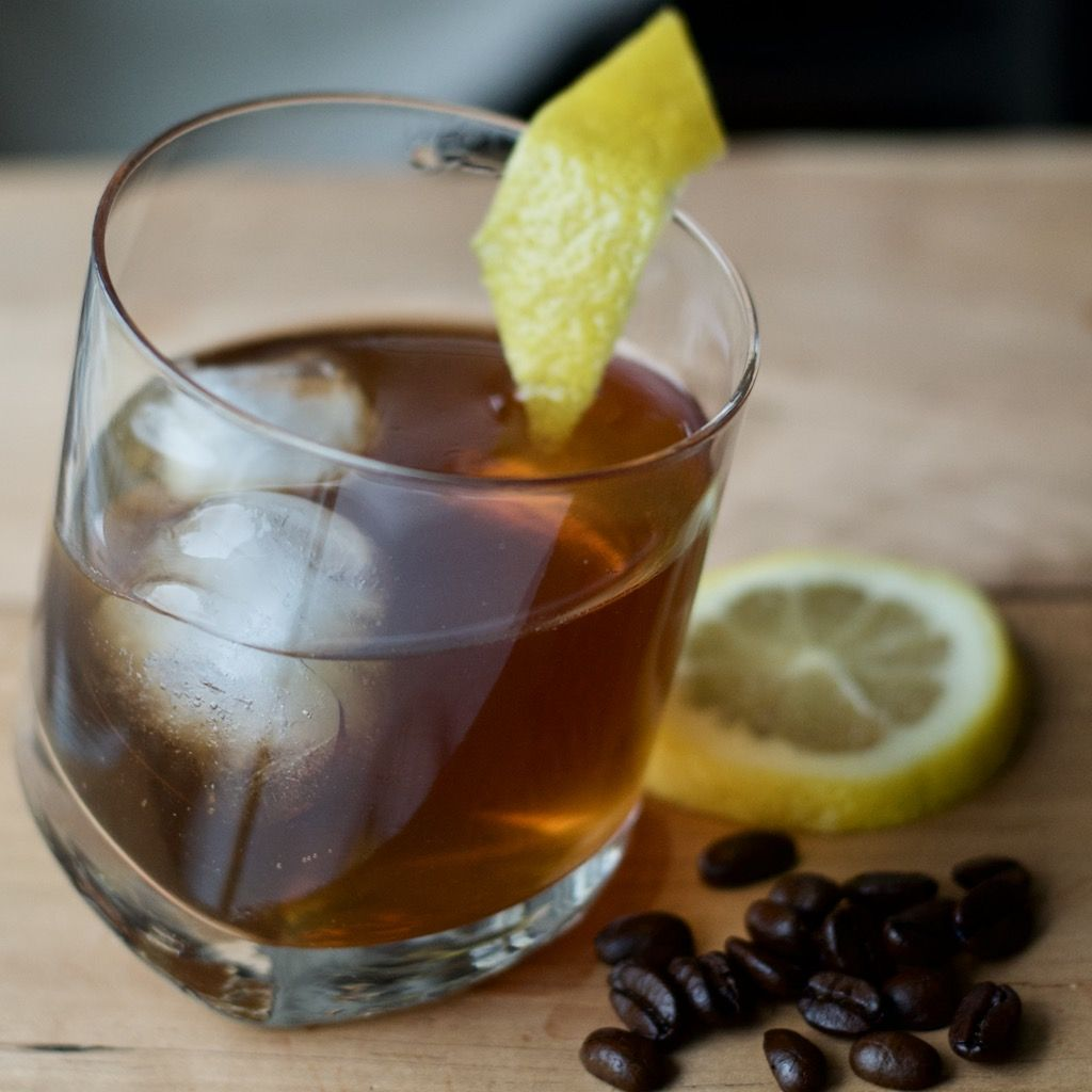 Cold Brew And Gin Cocktail First Order Gin Gin Cold Brew Lemon Recipe Gin Cocktail Recipes Gin Ingredients Cold Brew