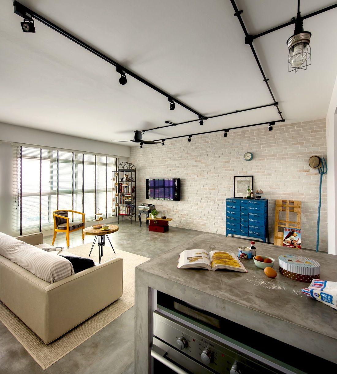 HDB-concrete Counter Top