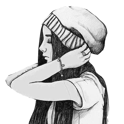 Vintage Girl Png 17 Hipster Drawings Hipster Drawing Cool Drawings