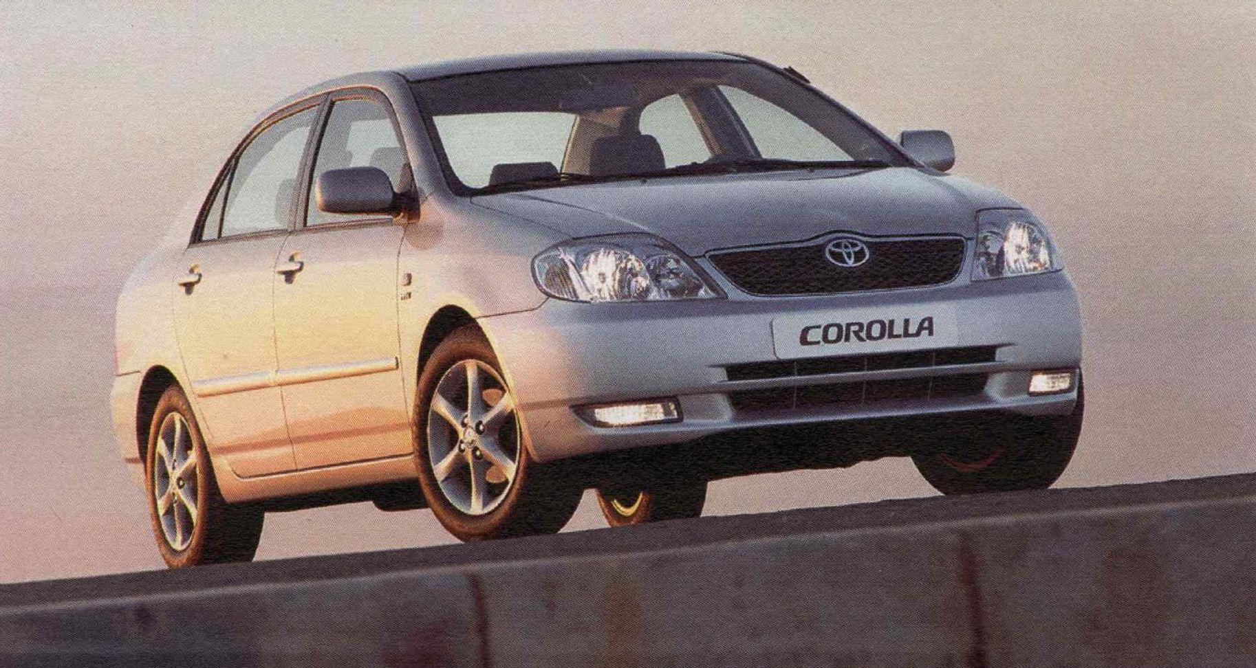 Kelebihan Corolla 2003 Review