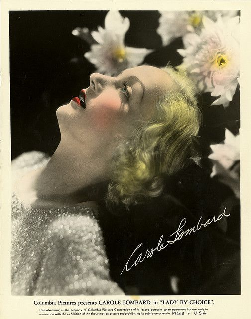 Carole Lombard , colorized Choice Color Glos | Flickr - Photo Sharing!