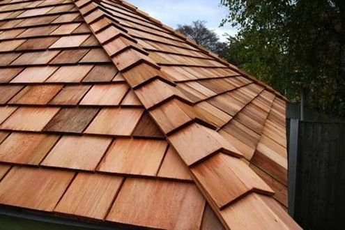 Best The Basics Wood Shingles And Shakes Cedar Roof Wood Shingles Roof Architecture 400 x 300