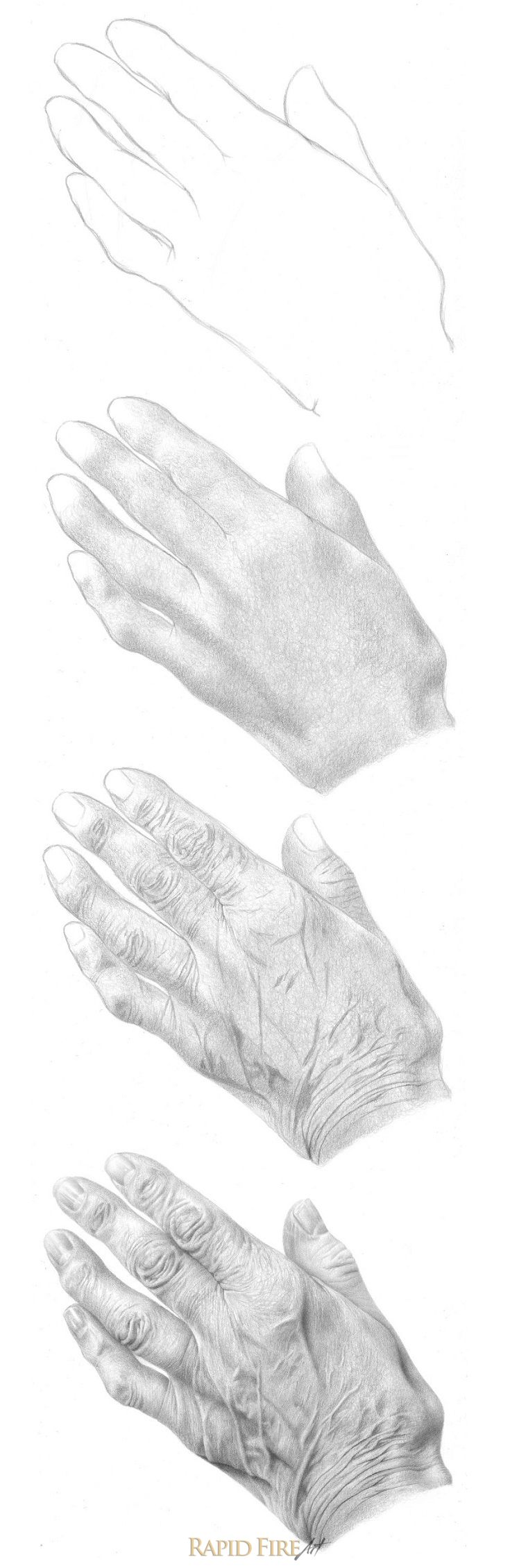 How To Draw Hands Part 2 Beyond Structure Art Models