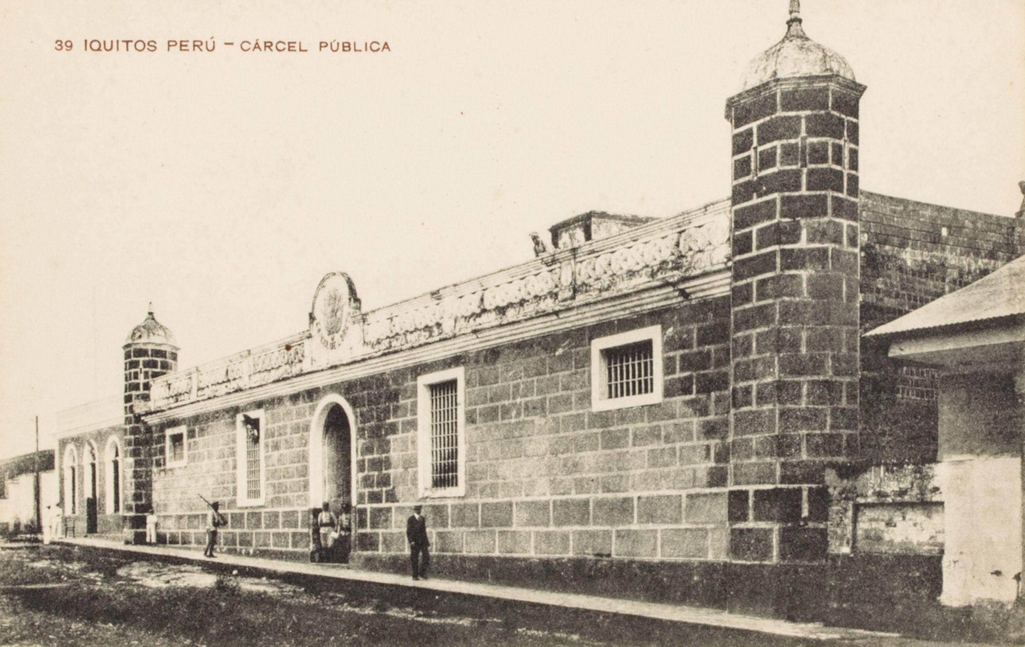 Cárcel pública. Iquitos [fotografía]
