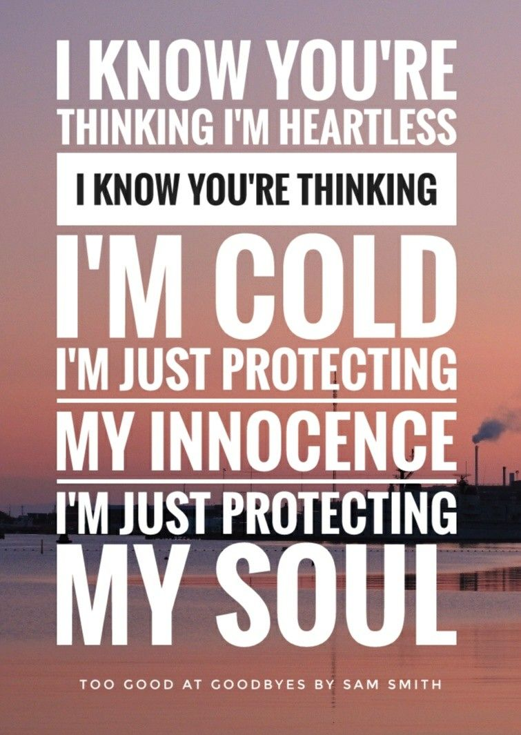 i know you re thinking i m heartless i know you re thinking i m