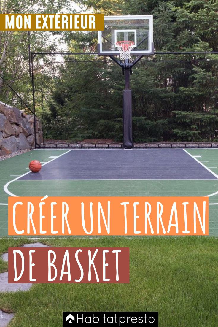 16++ Comment faire un terrain de basket dans son jardin ideas