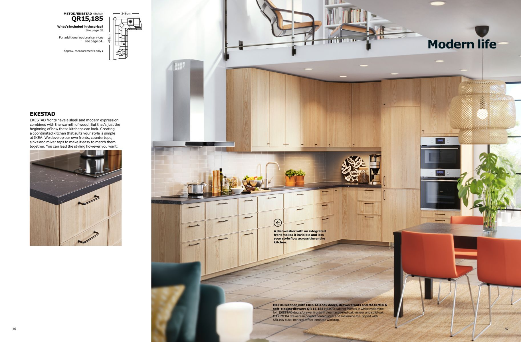 Kitchen Brochure 2018 (With images) Ikea kitchen