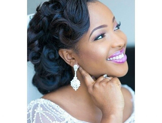 Wedding Hairstyles For Black Women Updo And Half Up Styles