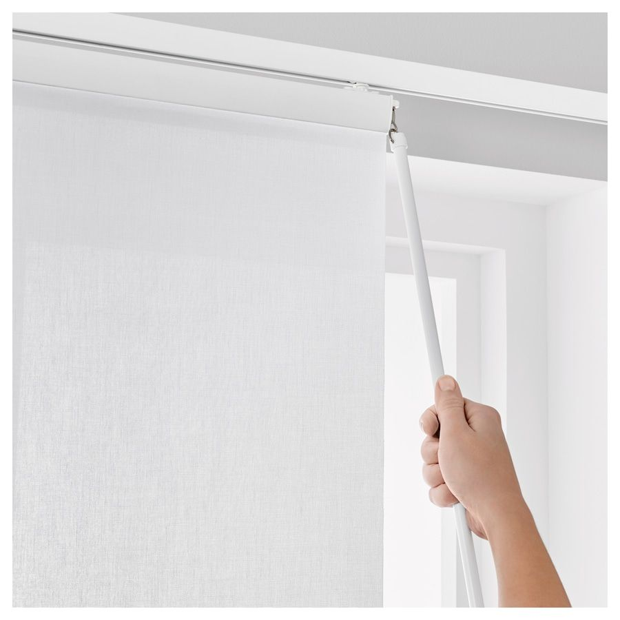 VIDGA Panel Curtain Holder - White 23 ½ ""