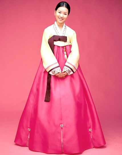 Traditional Korean Dress Is Known As Hanbok The Ethnic Clothes Of Korea Was Developed An Aspect Unique Living Heritage