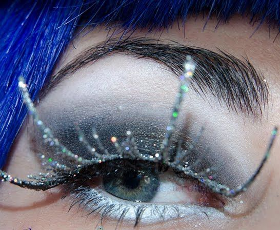 Dark Ice Queen Eyes Shadow Eyeshadow Ice Queen Fantasy Makeup