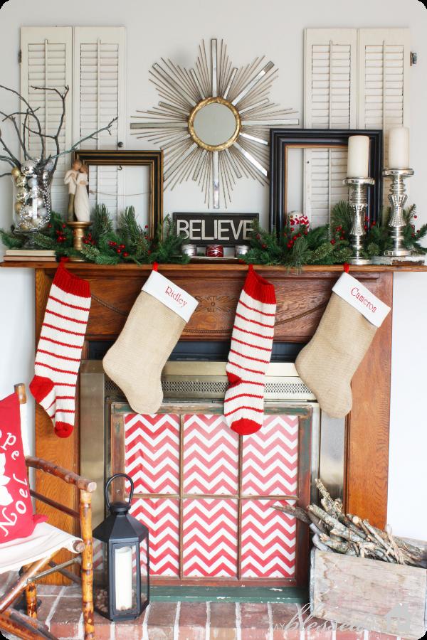 New Mantel Christmas Decorations