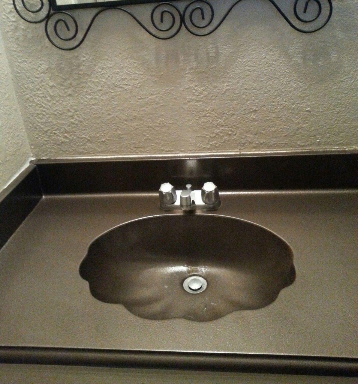 Most Popular Painting Bathroom Sink With Rustoleum Ideas