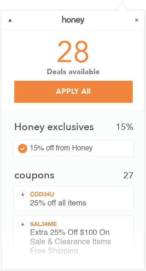 Honey- coupon app for online shopping | Tech hacks, How to ... on App That Finds Promo Codes id=70074
