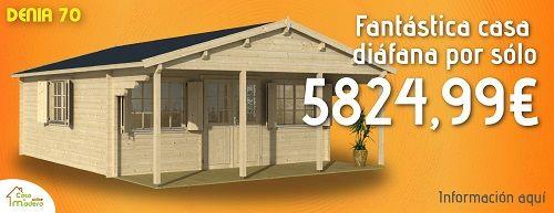 Caba as de madera al mejor precio casas de madera me for Cabana madera precio