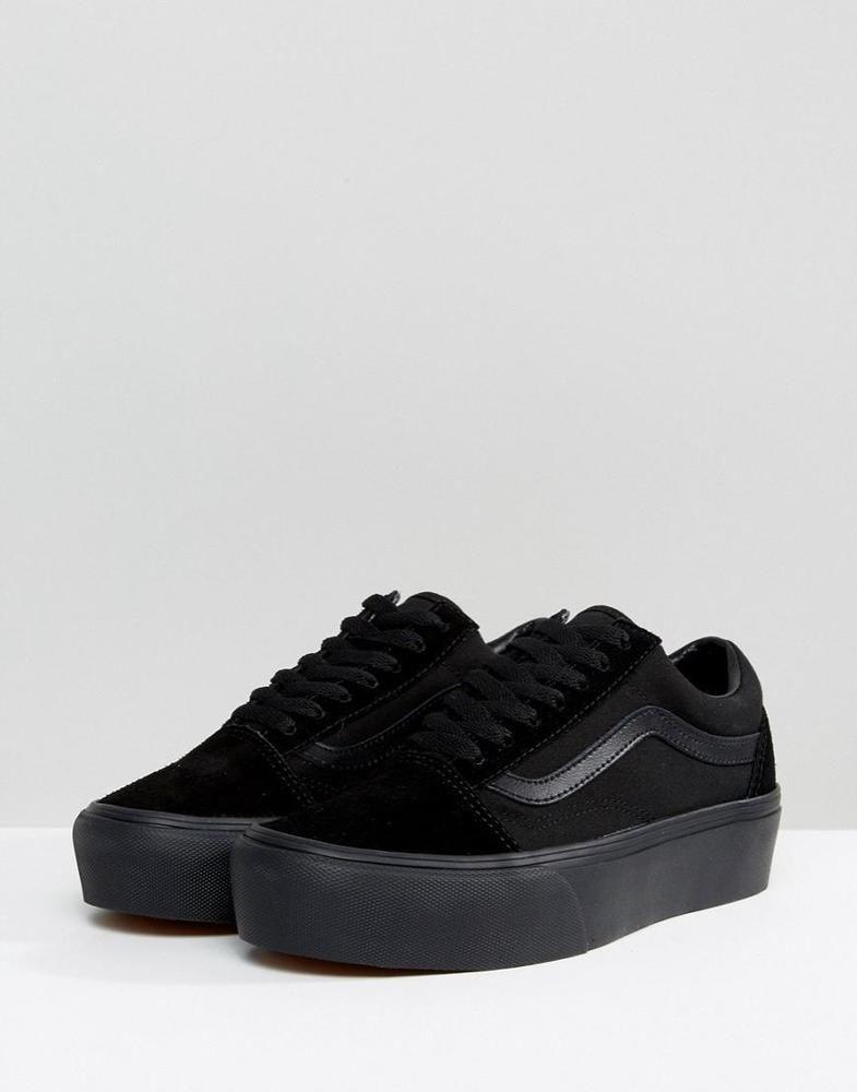 Vans Old Skool Triple Platform Sneakers