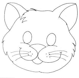 Professoras Online: Máscara de Gato | Mascaras | Printable