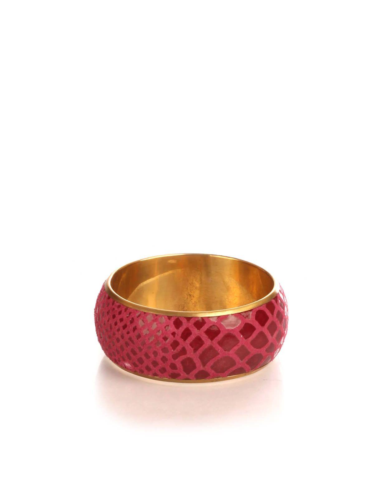STYLETAG JEWEL BOX / PINK PRINT BANGLE