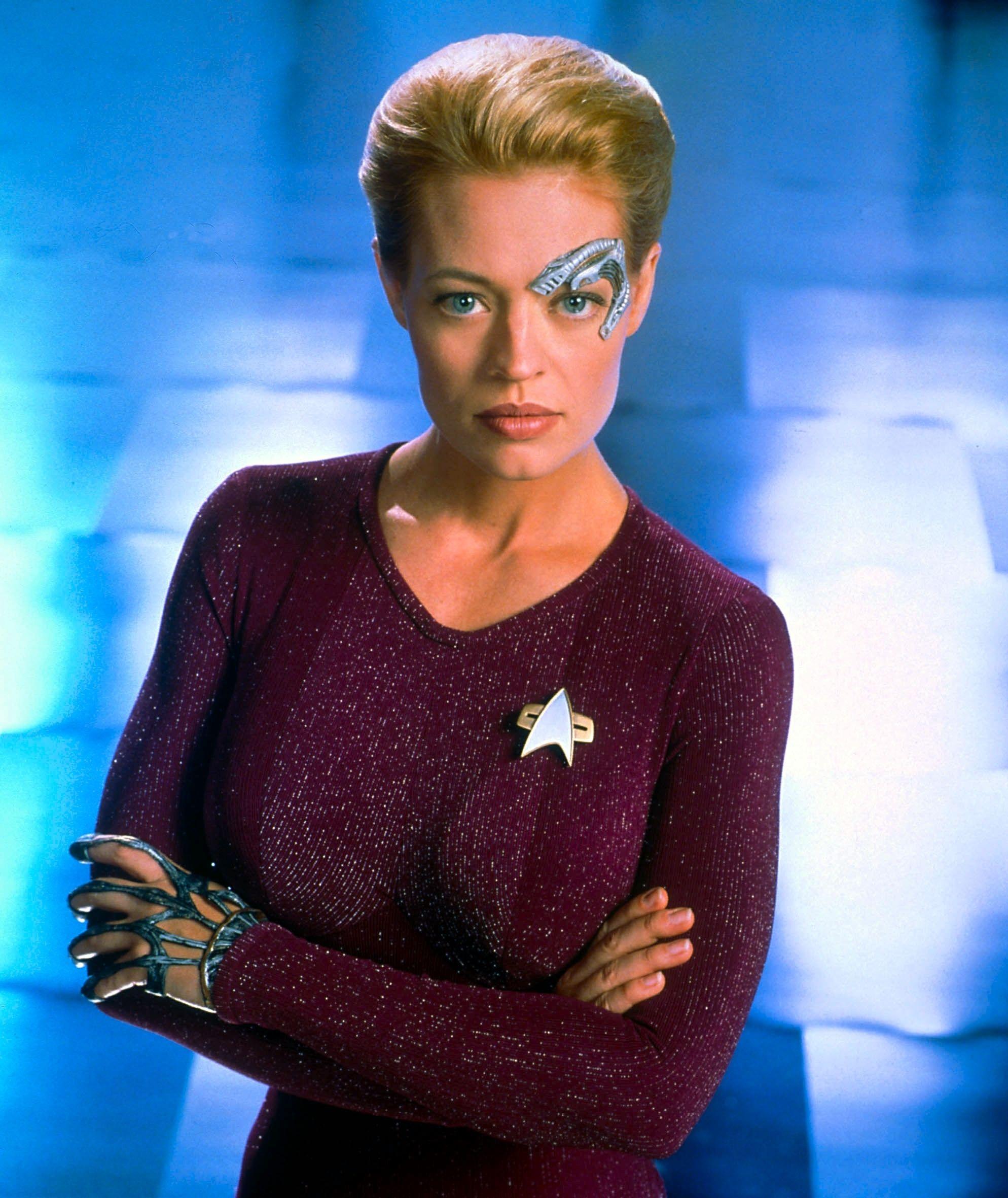 Star Trek Women Photo Seven Of Nine Star Trek Online Star Trek Borg Star Trek