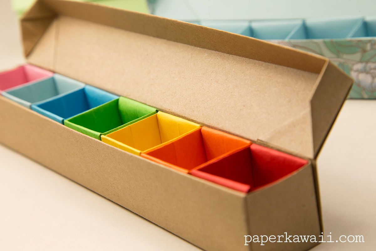 Origami Pill Box / Organizer Video Tutorial | Crafting ... - photo#19