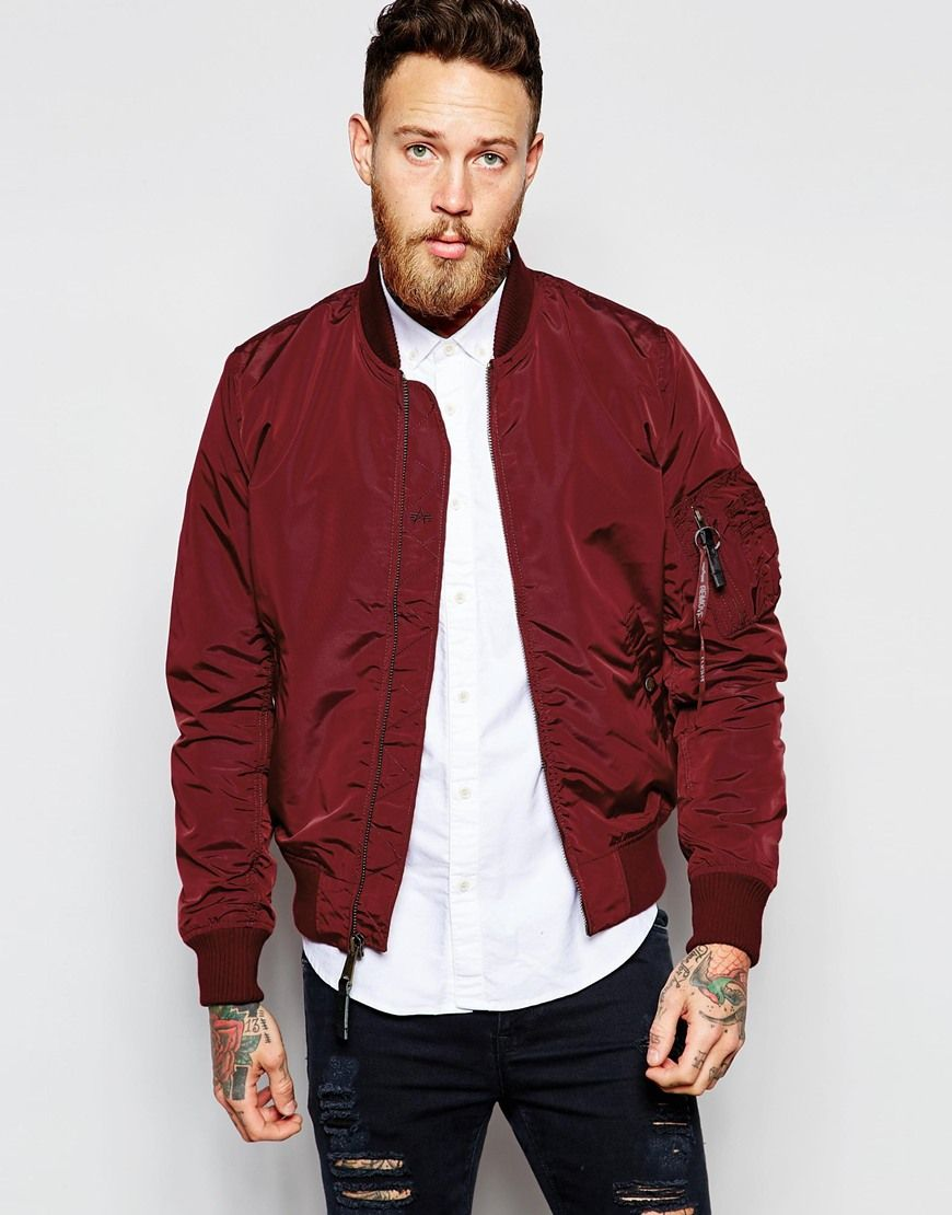 Alpha industries bomber mantel