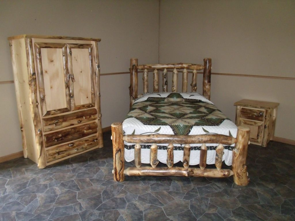 Log Bedroom Sets Enchanting Log Bedroom Furniture Sets  Interior Design Small Bedroom Check Decorating Design