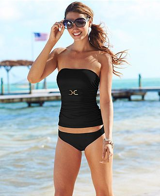 c0a334a1af MICHAEL Michael Kors Swimsuit, Solid Hipster Brief Bottom - Womens Swimwear  - Macy's