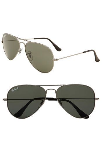 397c55fd112a9 Ray-Ban  Original Aviator  58mm Polarized Sunglasses (Save Now through  12 9) available at  Nordstrom