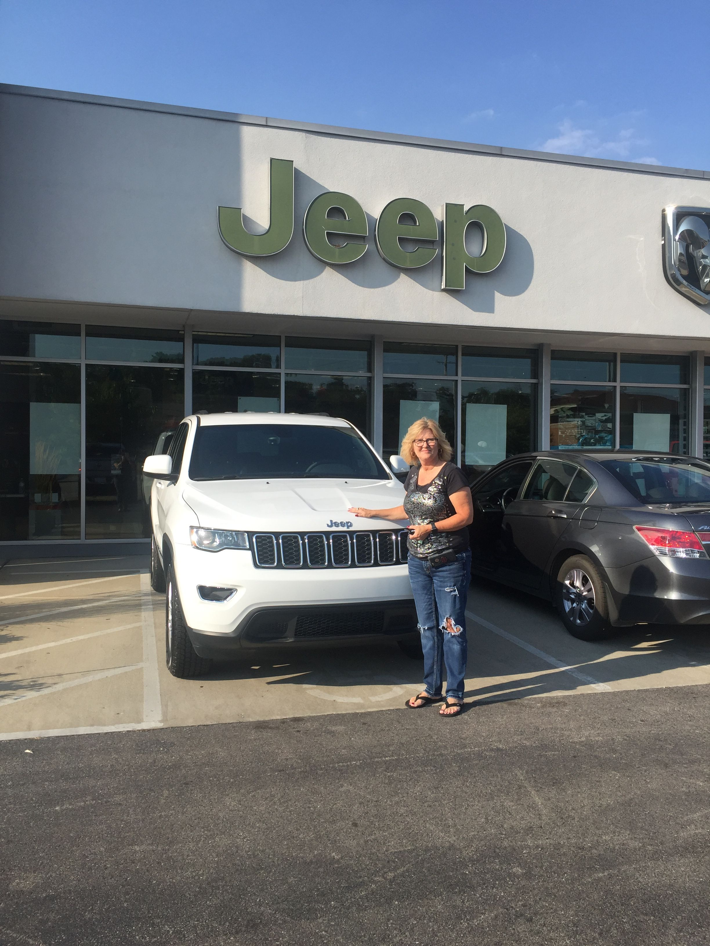 Lori Nicodemus Is Ready To Hit The Road In Her New 2018 Jeep Grand
