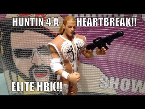 WWE ACTION INSIDER: Shawn Michaels HBK elite defining
