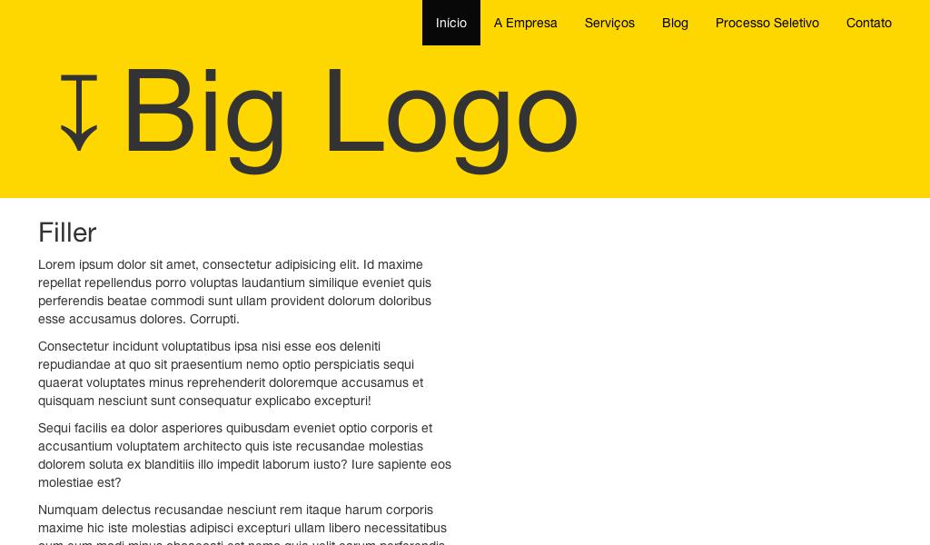 Responsive Parallax Navbar Logo - Bootstrap | Best Codepens