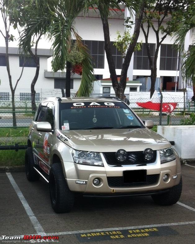 Grand Vitara Off Road Modifications Cerca Con Google Grand