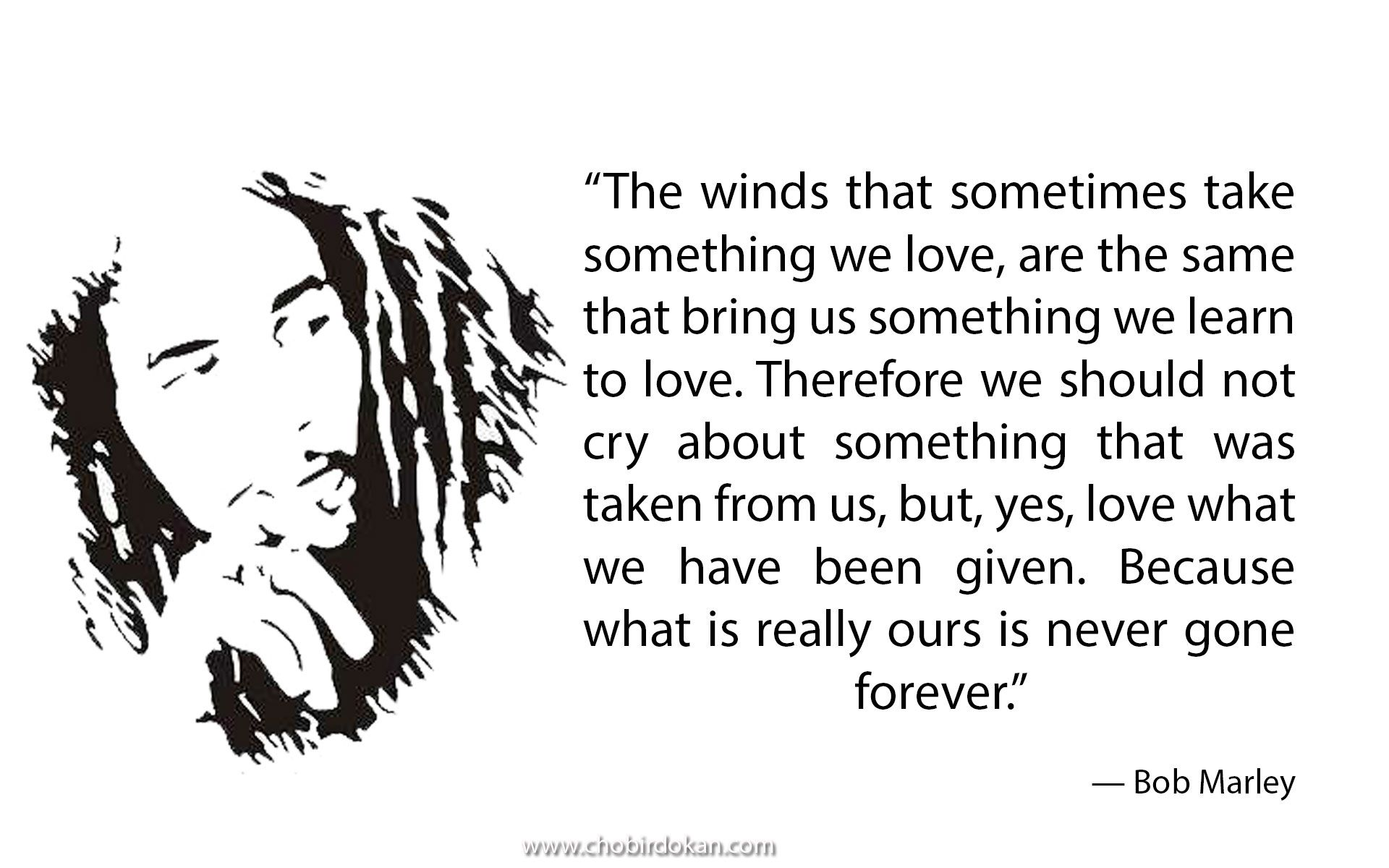 Great Inspirational Bob Marley Quotes