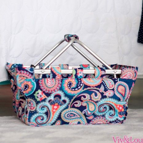 Emerson Paisley Market Tote