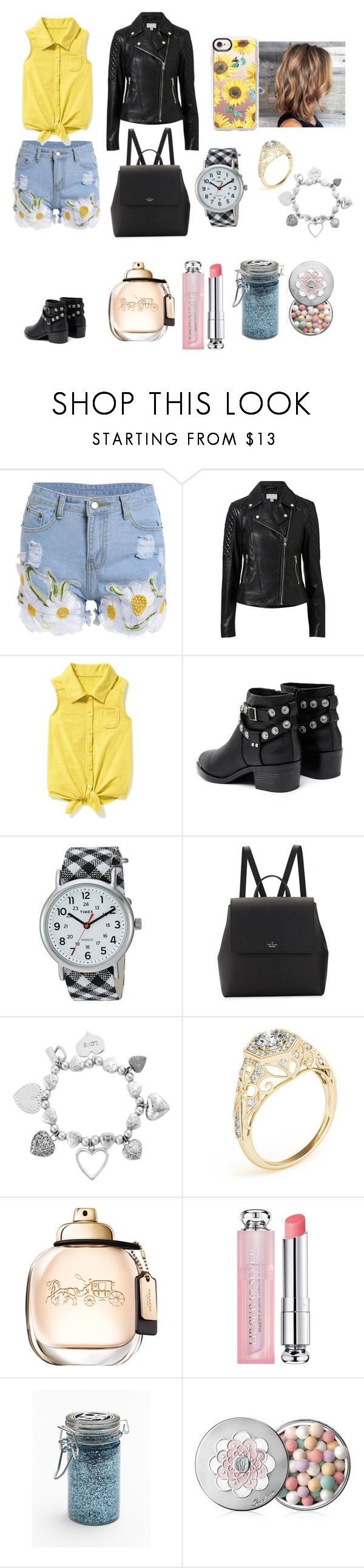 """""""Sunflower Beauty"""" by tiaban liked on Polyvore featuring"""