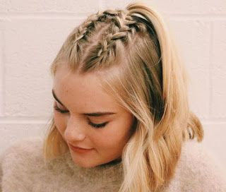 Trenzas Bonitas Para Cabello Corto Wildest Fire In 2020 Braids For Short Hair Easy Braids Braided Hairstyles Easy