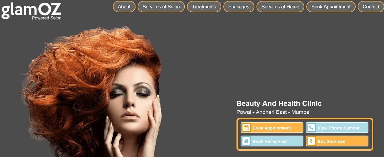 Pin by Glamoz India on Beauty Salons in India Hair