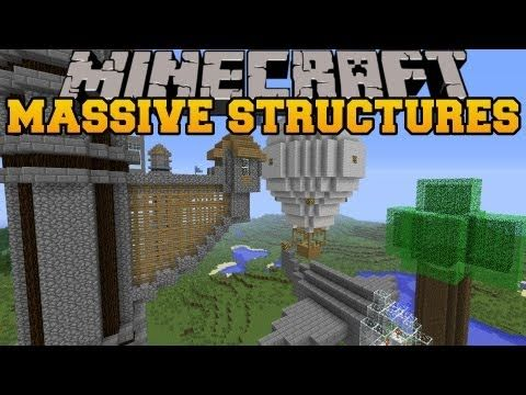 Minecraft: BETTER DUNGEONS (BOSSES, MOBS, MASSIVE DUNGEONS