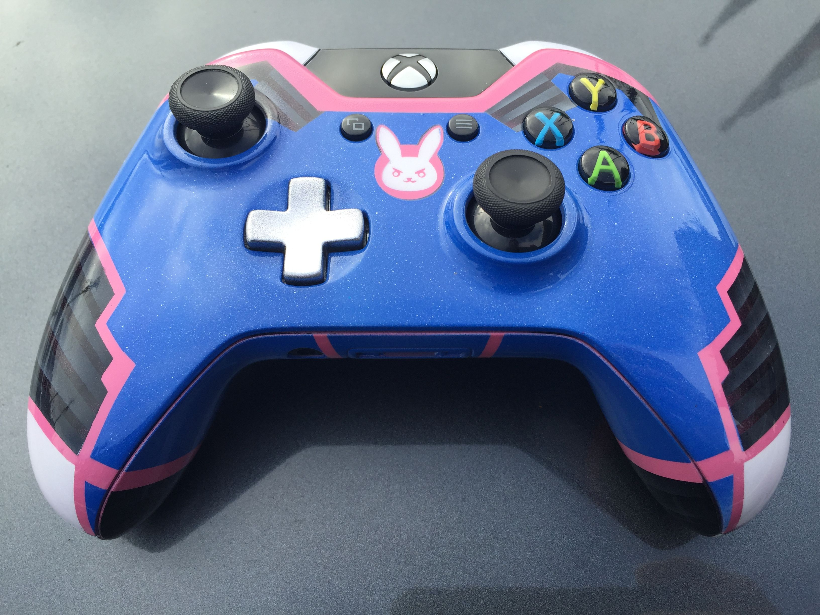 Custom Painted D Va Suit Overwatch Xbox One Controller Overwatch