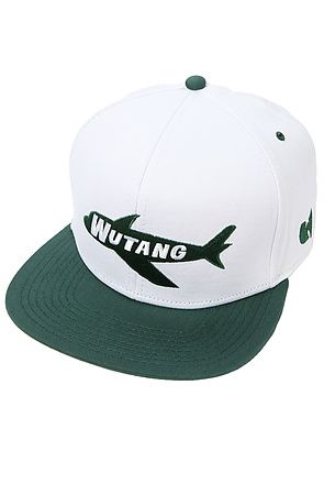 7403c32dbb3d1 The Wu Jersey Hat in White and Green by Wutang Brand Limited ...